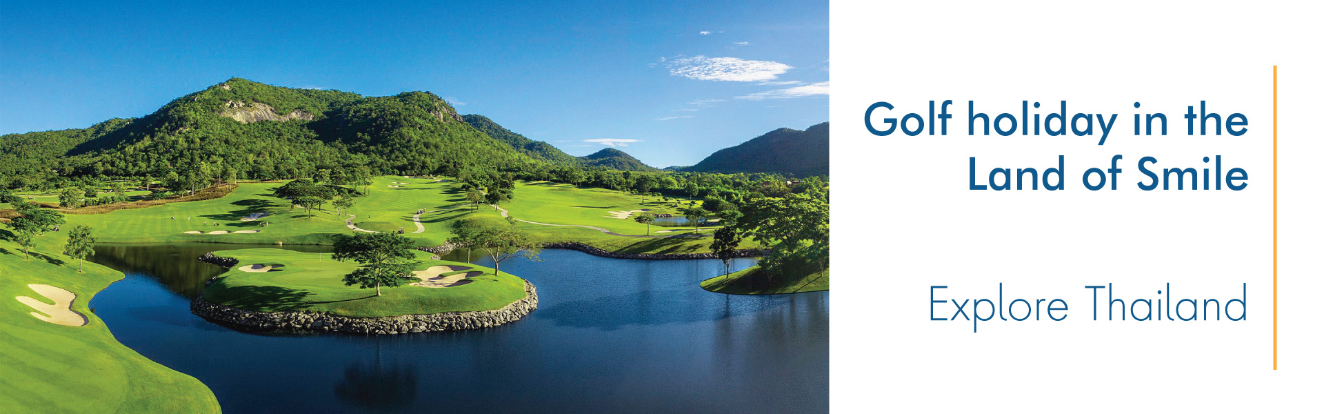 Explore Thailand: Golf holiday in the Land of Smile