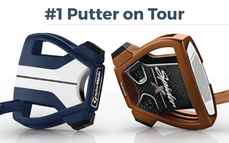 TaylorMade Spider X – The No.1 Putter on the PGA Tour