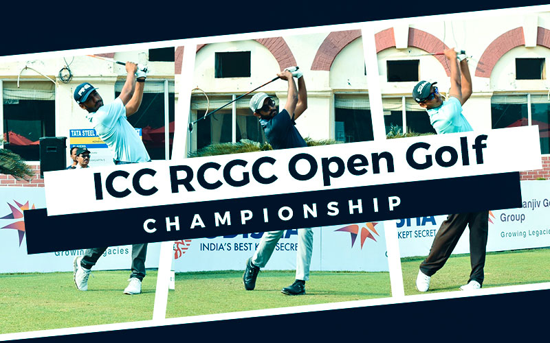 Rookies Kshitij, Priyanshu and Yuvraj promising prospects at inaugural ICC RCGC Open Golf Championship