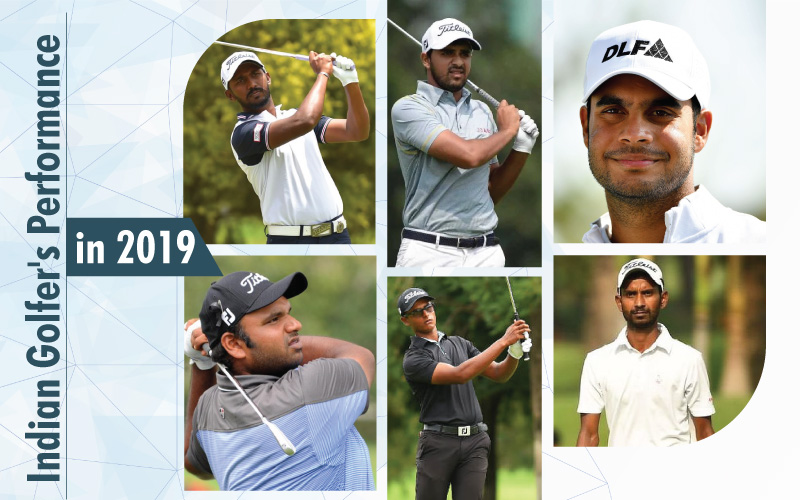 Indian Golfer's Performance in 2019: Who's Up Who's Down?