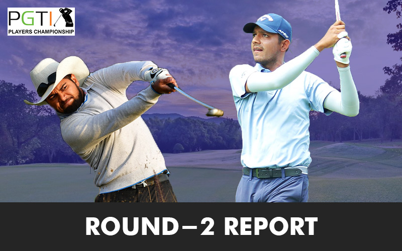 Ahlawat, Raj lead Players Championship at halfway stage