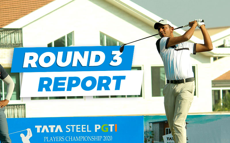 Veer Ahlawat leads by two shots after round 3 of Players Championship