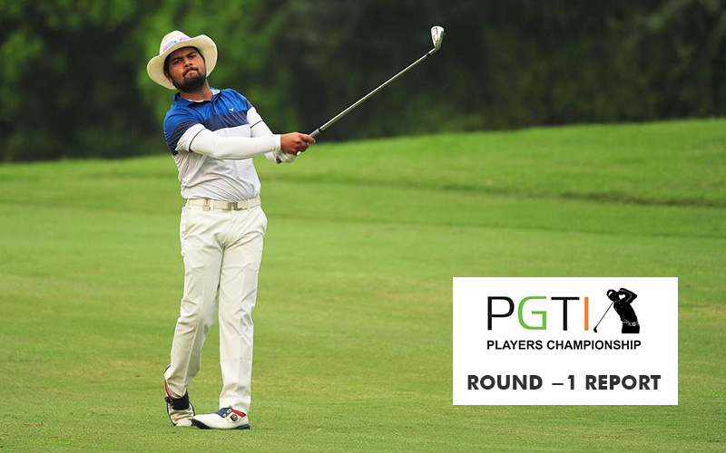 Aman Raj claims early lead in the Players Championship 2020