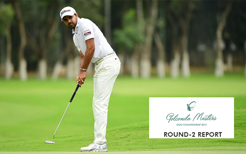 Khalin Joshi fires 4-under-67 to grab two-shot lead in round two