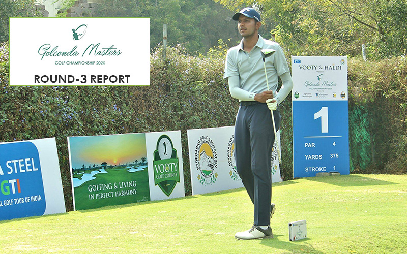 Golconda Masters 2020: Veer Ahlawat takes 1-shot lead over Udayan Mane in Round 3