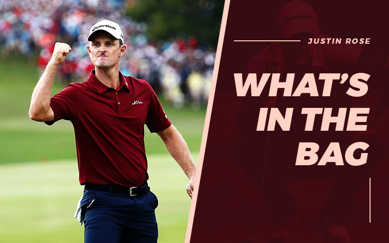 Whats In Justin Rose Bag?