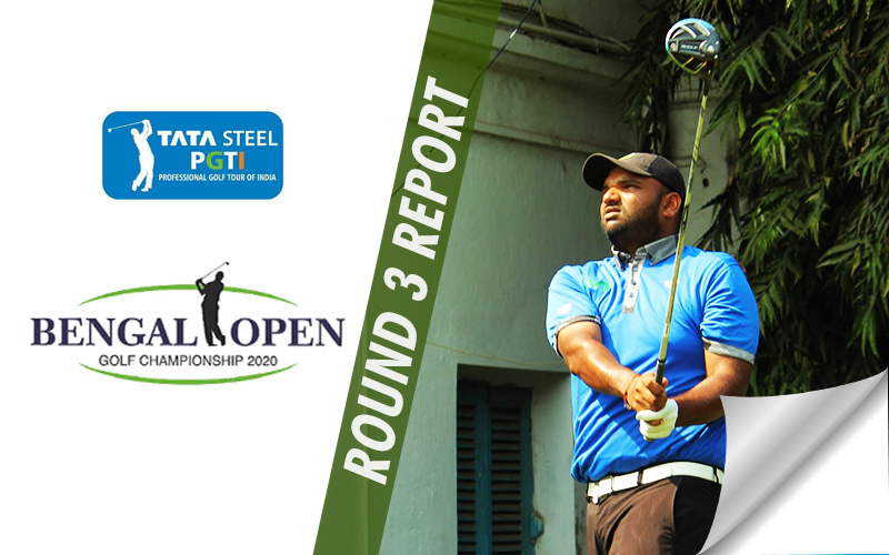 Udayan Mane and Aadil Bedi are the third round leaders at Bengal Open 2020