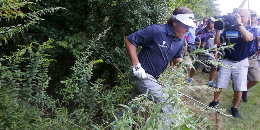 Phil Mickelson's top-10 great escapes