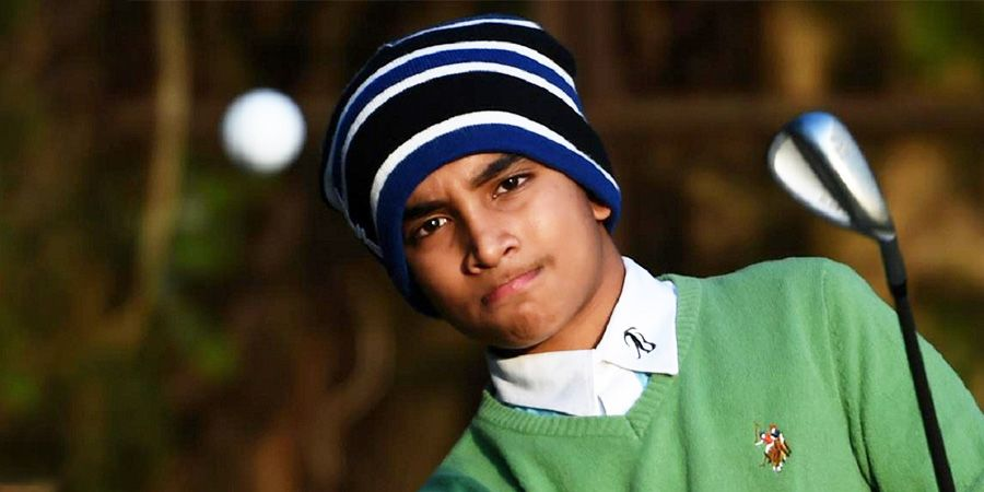 Shubham Jaglan – A 13-year-old village boy became the golf world champion