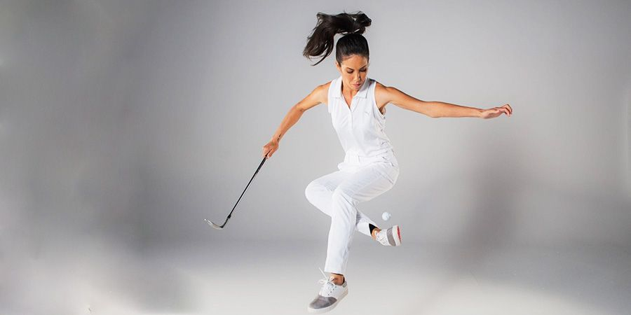 Ultimate golf trick shots by Tania Tare