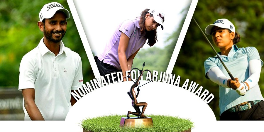 IGU nominates three golfers for Arjuna Award 2020