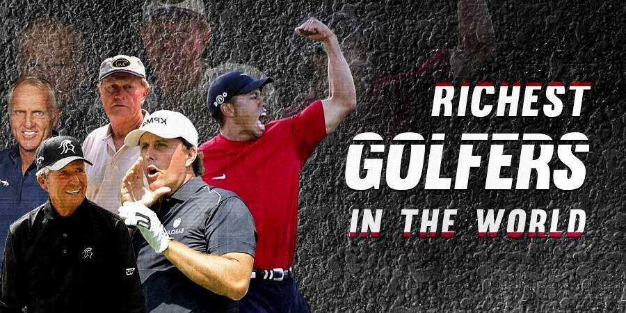 Top 5 Richest Golfers in the World