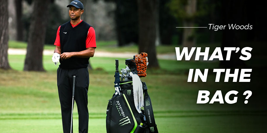 What's in the bag: Tiger Woods