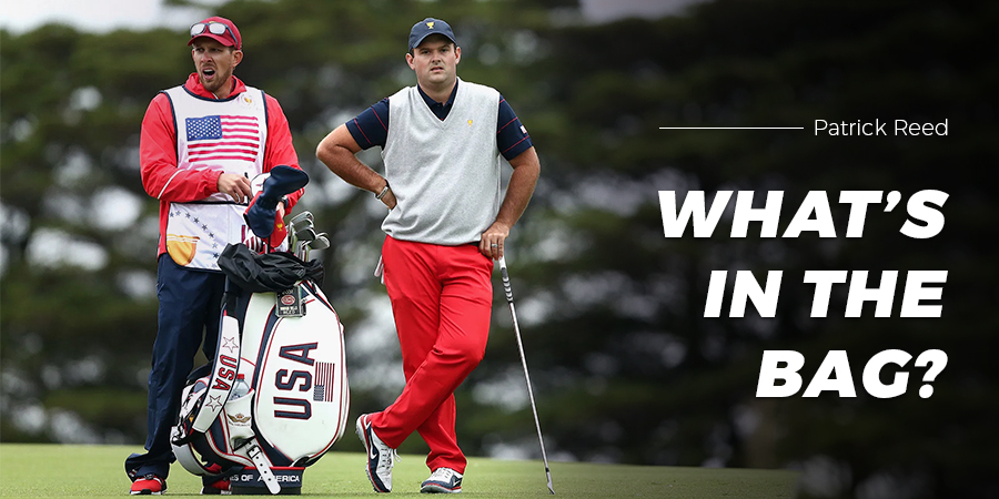What's in the Bag: Patrick Reed