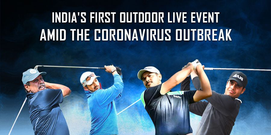 India's first outdoor live event amid the Coronavirus outbreak