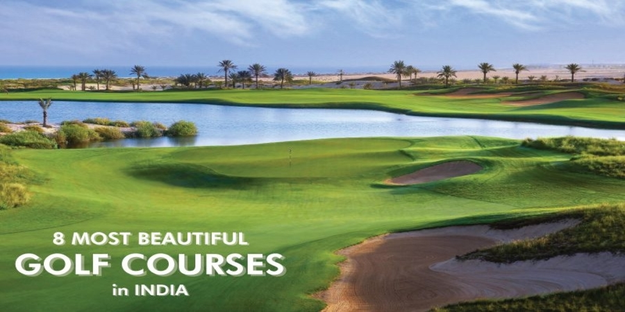 The most beautiful golf courses in India