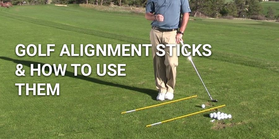 How to Effectively use Alignment Sticks & Improve Your Game
