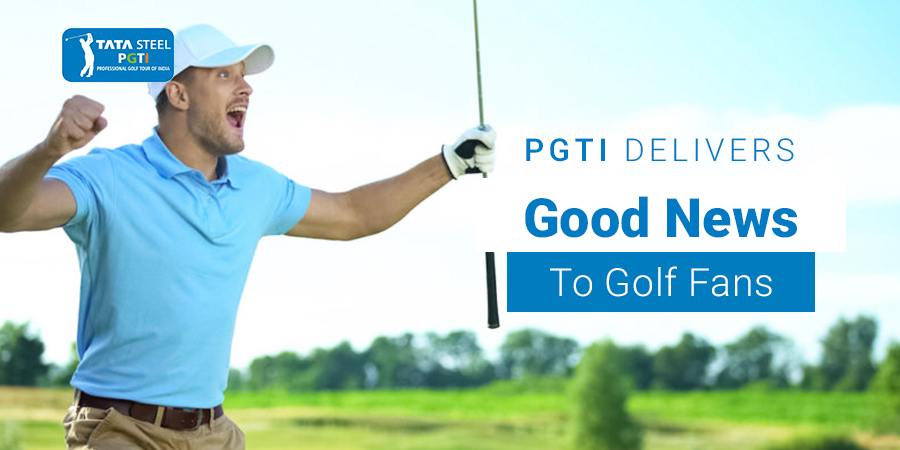 PGTI delivers good news to golfers