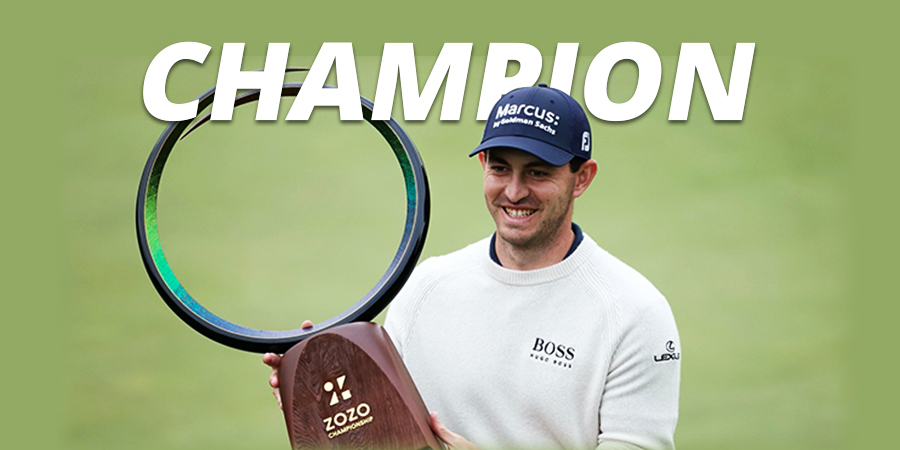 Patrick Cantlay claims 3rd PGA Tour title after carding -7 final-round at the ZoZo Championship