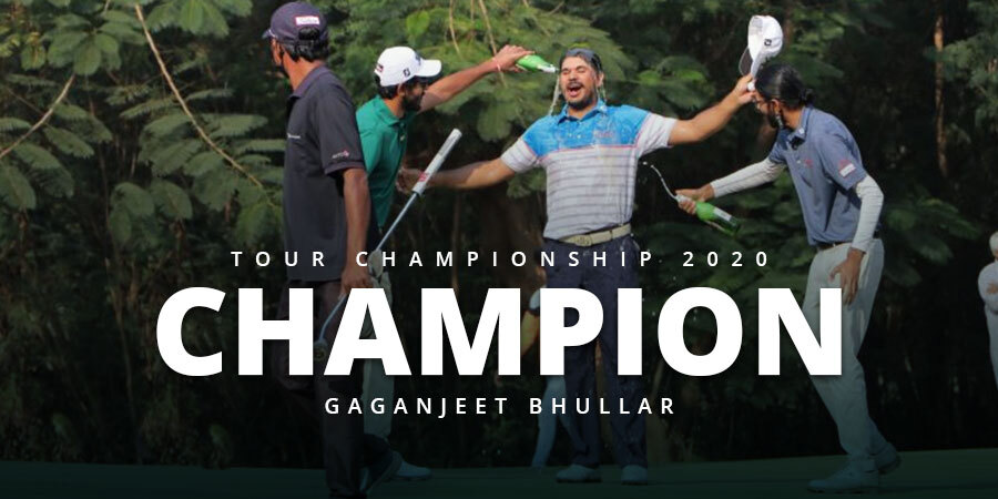 Gaganjeet Bhullar ends victory drought with Tour Championship win