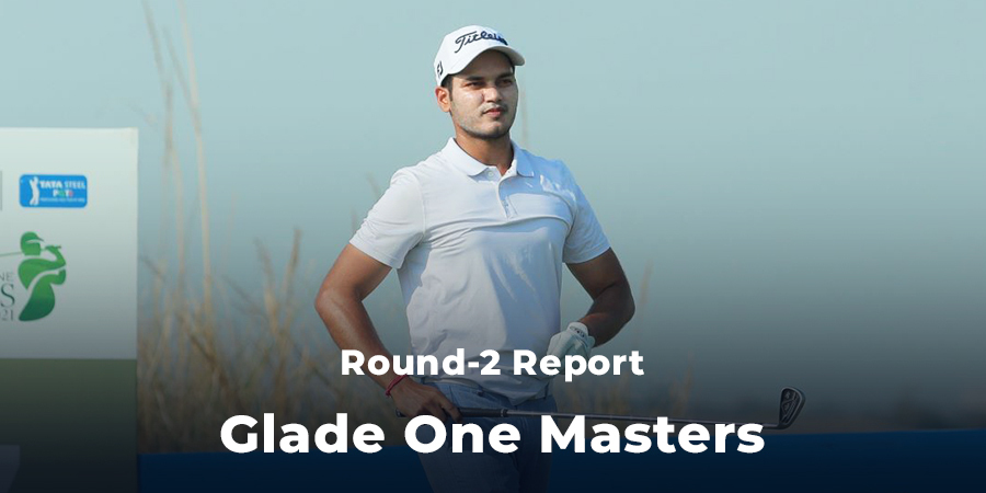 Manu Gandas takes the halfway lead at Glade One Masters