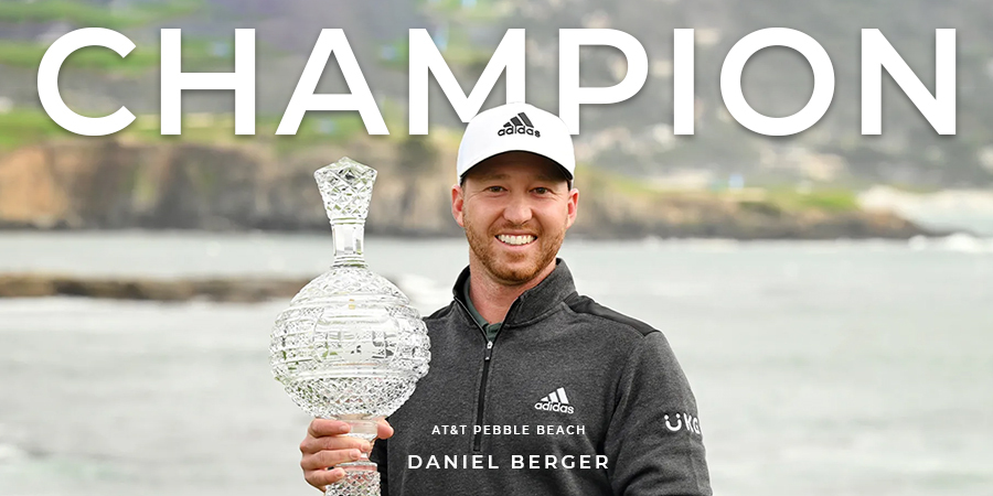 An eagle on the last hole helps Daniel Berger to claim his fourth PGA Tour victory