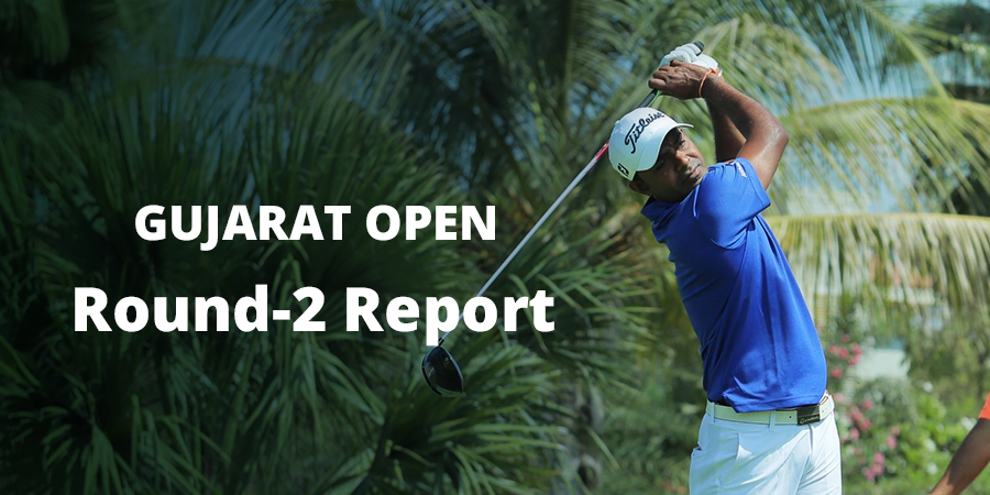 Gujarat Open: Om Prakash Chouhan holds the top position at the halfway stage