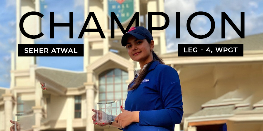 Seher Atwal wins her maiden pro title in the fourth leg of WPGT