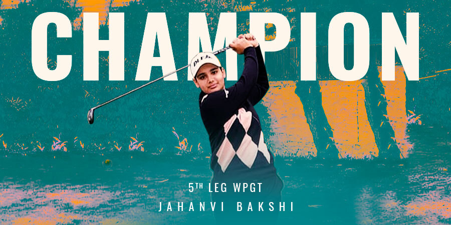 Jahanvi Bakshi wins 5th leg of WPGT by 4 strokes