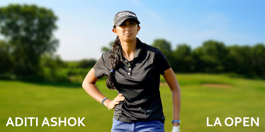 Aditi Ashok shoots 2-under in third round at LA Open