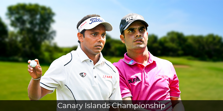 Shubhankar opens with solid 67 at Canary Championship, Chawrasia lies Tied-38th