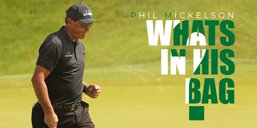 Phil Mickelson: What's in the Bag?