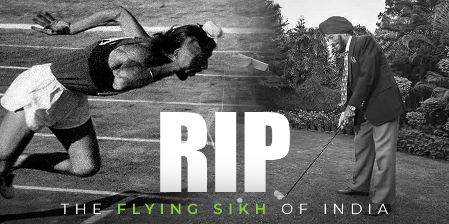 Legendary Indian athlete Milkha Singh passes away after a long battle with Covid