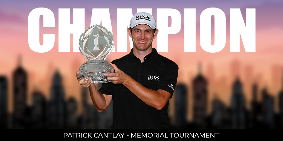 Patrick Cantley beats Collin Morikawa in playoff to win 2021 Memorial Tournament