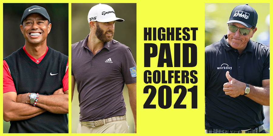 Highest Paid-Golfers 2021: Woods on top