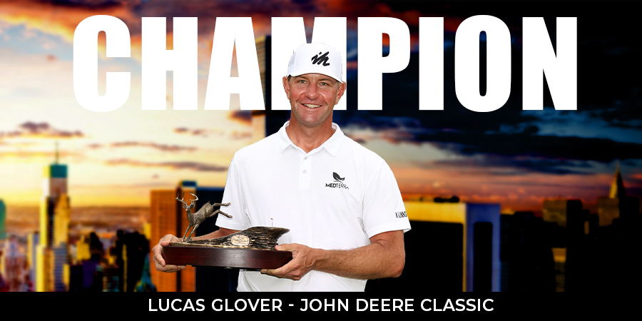 Lucas Glover ends 10-year title drought at John Deere Classic