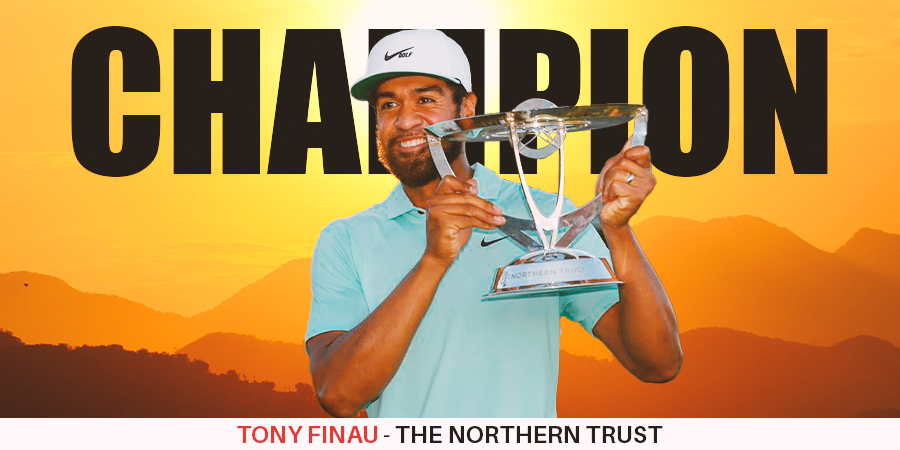 Tony Finau beats Cameron Smith in playoff to win The Northern Trust