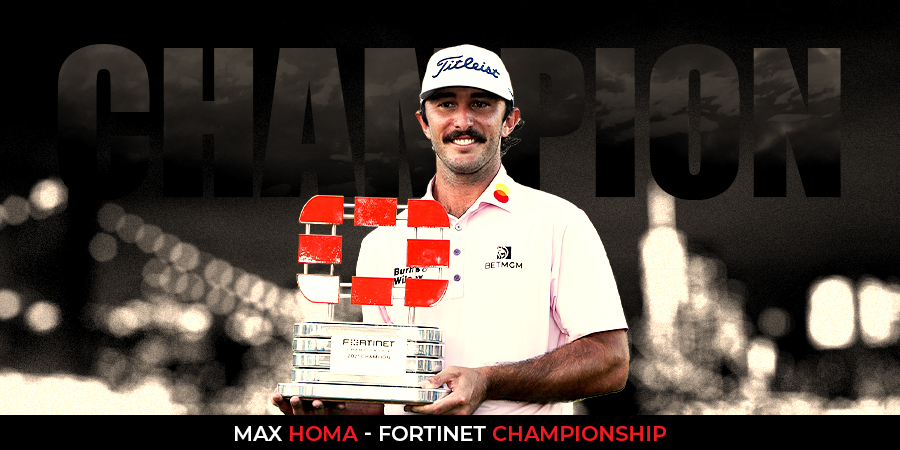 Max Homa holds off McNealy to win Fortinet Championship