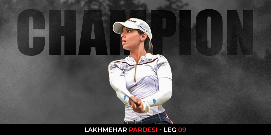 Lakhmehar Pardesi holds off Jahanvi to grab maiden title at Hero WPGT